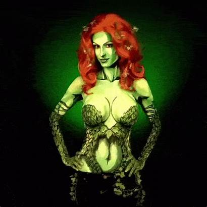 Kay Poison Bodypaint Ivy Gifs Paint Pike