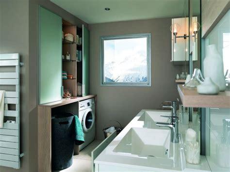 mini salle d eau dans une chambre 20 coins buanderie astucieux et pratiques
