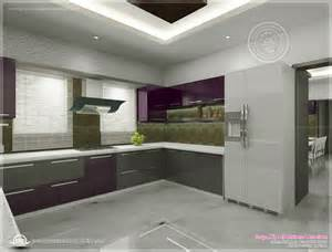 kitchen interior design images kitchen interior views by ss architects cochin home kerala plans