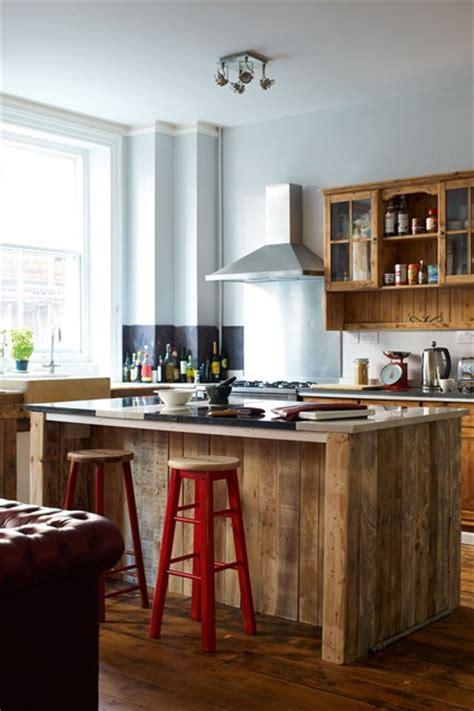upcycled kitchen ideas elvis kresse upcycled reclaimed cupboards kitchen design ideas houseandgarden co uk
