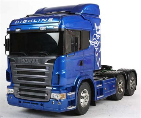 Tamiya 56327 114 Scania R620 6x4 Highline Blue Edition