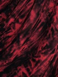 Tie And Dye Marron : sophie maroon red black tie dye viscose cotton stretch lycra fabric ~ Melissatoandfro.com Idées de Décoration