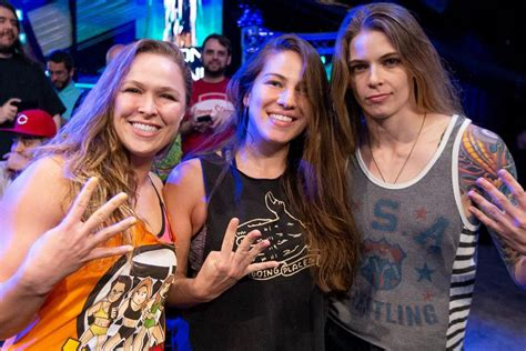 horsewomen  mma   wwe  cageside seats
