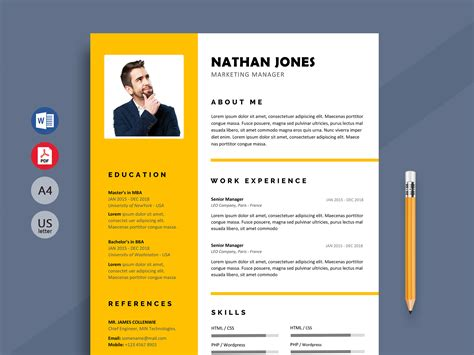 How to choose a cv format and design. Shout - Modern Resume Template Word Format - ResumeKraft