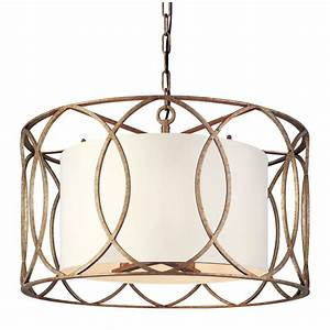 Troy sausalito five light drum pendant on sale