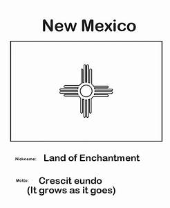 Usa Printables New Mexico State Flag State Of New