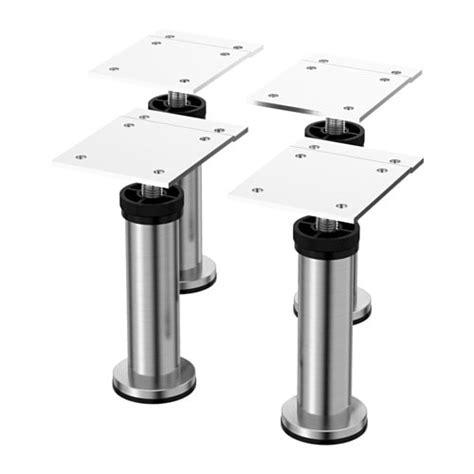 ikea kitchen cabinet legs capita leg stainless steel ikea 4477