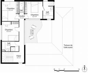 Plan Maison A Etage : plan maison tage avec patio ooreka ~ Melissatoandfro.com Idées de Décoration