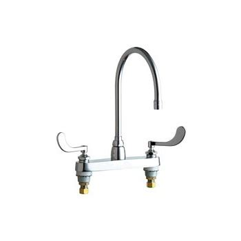commercial grade kitchen faucets chicago faucets 1100 gn8ae3 317ab commercial grade high arch kitchen faucet chrome