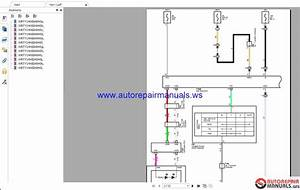 2014 Toyota Rav4 Electrical Wiring Diagrams Manuals