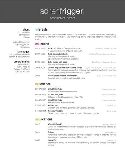 Creative Resume Packages by Resume Template Haadyaooverbayresort
