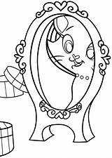Mirror Coloring Pages Mirror2 sketch template