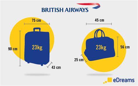 vos bagages avec british airways