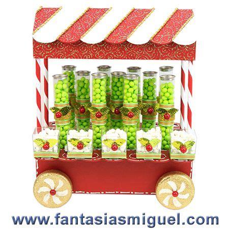 carrito despachador de dulceros verde blanco como hacer manualidades fantasias miguel