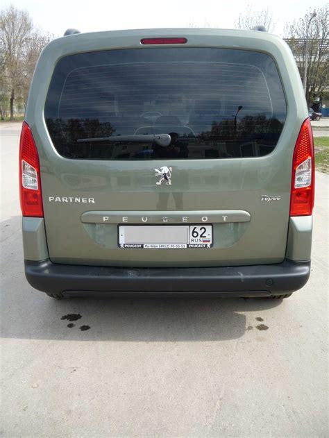 2009 Peugeot Partner Tepee For Sale 1600cc Gasoline Ff