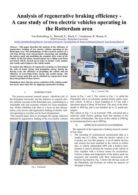 vehicle repair manual 2011 nissan versa regenerative braking pdf analysis of regenerative braking efficiency a case