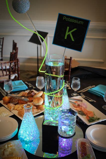 Science Decorations - 25 best ideas about bar mitzvah centerpieces on