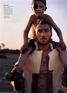 Vogue images July 2002: Jude Law and family HD wallpaper ...