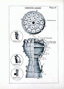 A4  V2 Rocket Engine Diagram