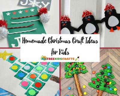 homemade christmas craft ideas  kids