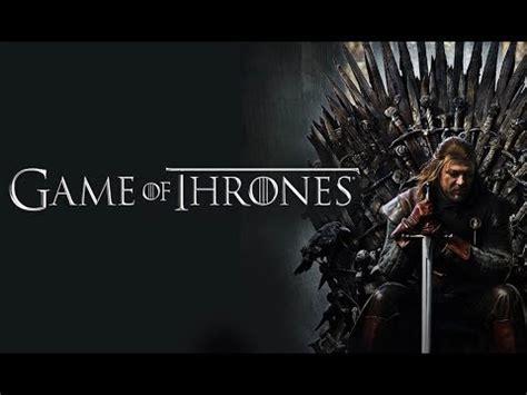 game  thrones season  trailer youtube