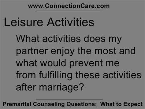 premarital counseling questions premarital counseling questions presentation