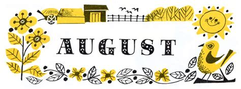 Hello August. | Present&Correct