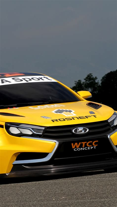 Sports Cars 2015 by Wallpaper Lada Vesta Wtcc Sports Car Lada Vesta Review