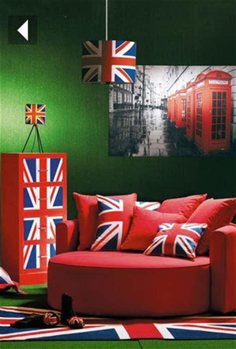 deco chambre angleterre une déco union drapeau anglais pla déco