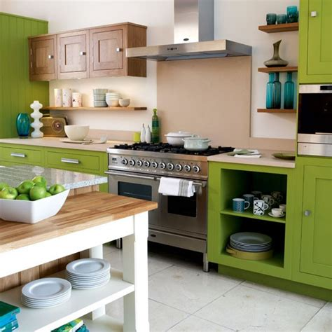 green kitchen cabinets uk green kitchen kitchen colour schemes 10 ideas