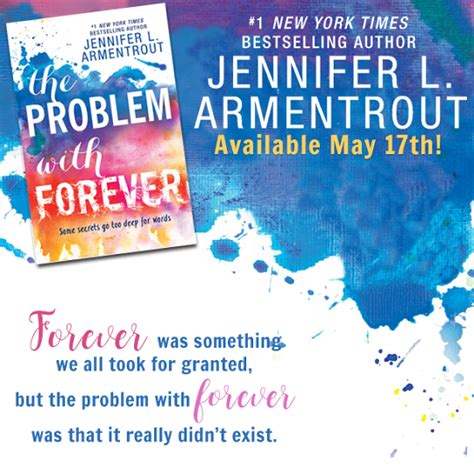readers live a thousand lives review tour the problem with forever by l armentrout