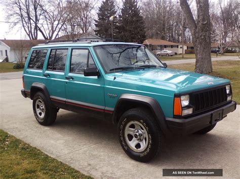 sports jeep cherokee 1996 jeep cherokee sport sport utility 4 door 4 0l