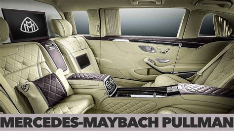 Obviously, we don't have enough space here to describe the pullman's features, so we'll only say that it features an interior completely lined with leather and an. Mercedes-Maybach S600 Pullman | INTERIOR DESIGN | Super luxury cars, Luxury cars