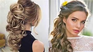 The Most Popular and Elegant wedding Hairstyles Tutorials Of 2017 YouTube
