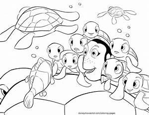 Disney's Finding Nemo Crush, Squirt Telling Stories ...