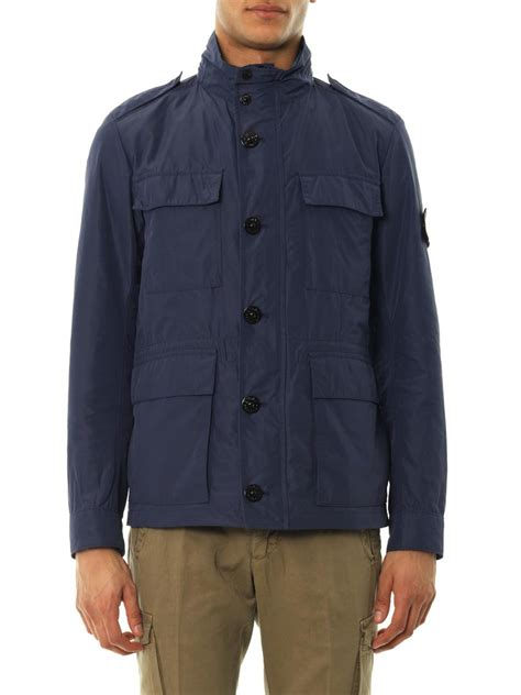 Jacket For by Lyst Island Micro Reps 4 Pocket Field Jacket In