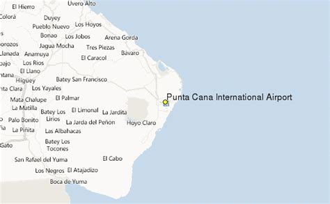 location de canap punta cana international airport weather station record
