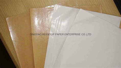 PE COATED PAPER WHITE KRAFT PAPER FOR FOOD WRAPPING - KT ...