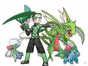 Pokemon Heroes Green Lantern