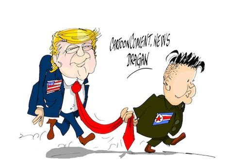 Donald Trump-kim Jong-un By Dragan
