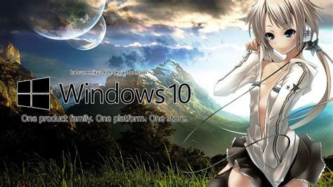 Anime Live Wallpaper For Laptop - windows 10 wallpaper anime wallpapersafari