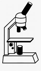 Microscopio Para Microscope Coloring Colorear Dibujo Clipart Clipartkey sketch template