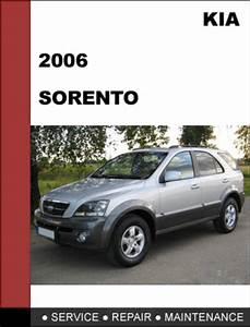 Kia Sorento 2006 Oem Factory Service Repair Manual
