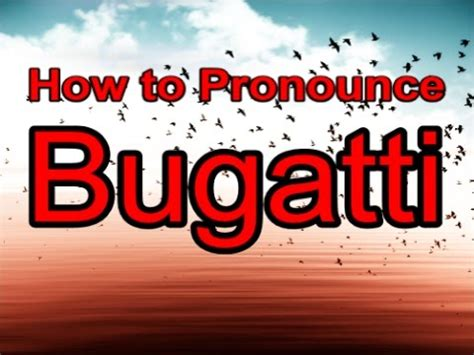 How To Pronounce Chiron by How To Pronounce Bugatti Chiron Car Magazine