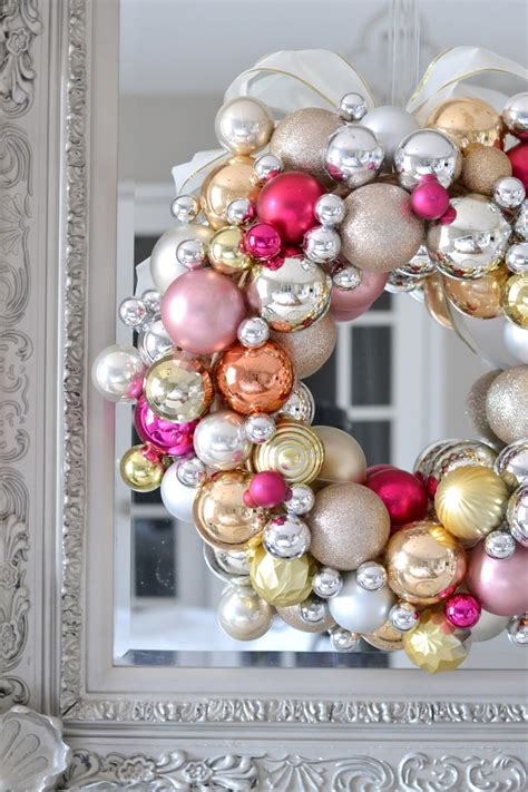 making a christmas ornament livelovediy how to make a ornament wreath