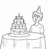 Coloring Pages Boy Birthday Printable Cool2bkids sketch template