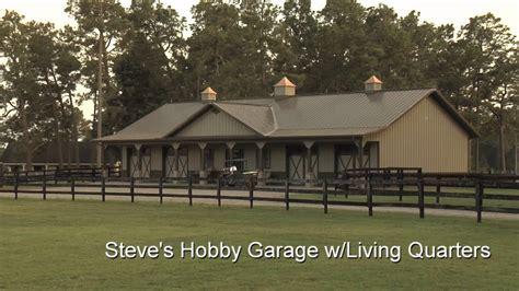 steves hobby garage wliving quarters youtube