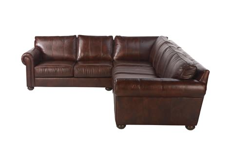 richmond leather sectional sectionals ethan allen