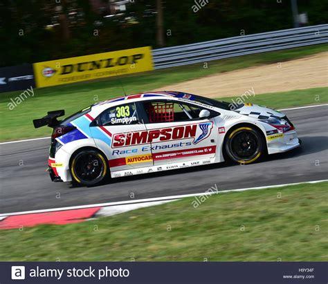 Matt Simpson, Honda Civic Type R, Btcc 2016, Brands Hatch