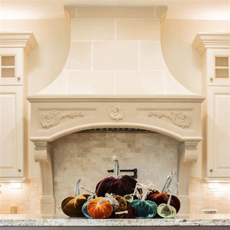 Florentine Kitchen Cast Stone Range Hoods   Old World